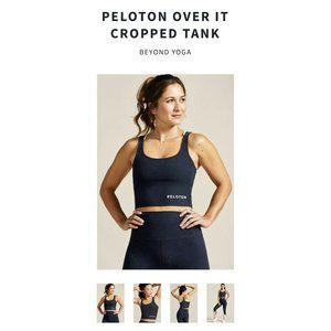 Peloton Beyond Yoga Over It Cropped Tank